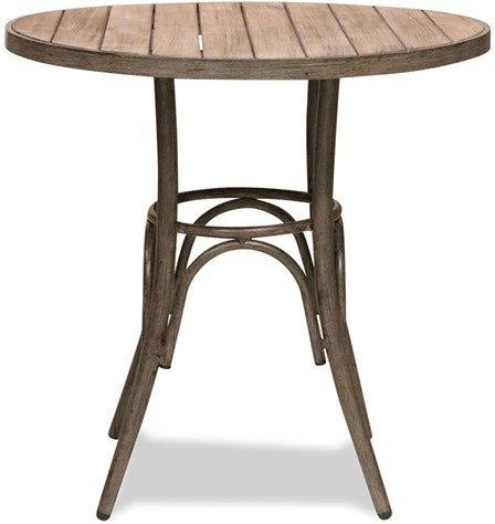 På billedet ser du variationen Belleza, Cafe bord, Egetræ fra brandet House of Sander i en størrelse H: 75 cm. B: 76 cm. L: 76 cm. i farven Brun
