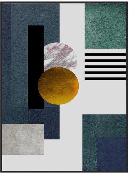 På billedet ser du Figure Art , Illustration m. ramme fra brandet House of Sander i en størrelse H: 3 cm. B: 60 cm. L: 90 cm. i farven Multifarvet