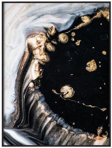På billedet ser du Golden Art, Illustration m. ramme fra brandet House of Sander i en størrelse H: 3 cm. B: 60 cm. L: 90 cm. i farven Multifarvet