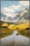 På billedet ser du variationen Light Road, Illustration m. ramme fra brandet House of Sander i en størrelse H: 3 cm. B: 60 cm. L: 90 cm. i farven Multifarvet