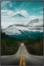 På billedet ser du variationen Dark Road, Illustration m. ramme fra brandet House of Sander i en størrelse H: 3 cm. B: 60 cm. L: 90 cm. i farven Multifarvet