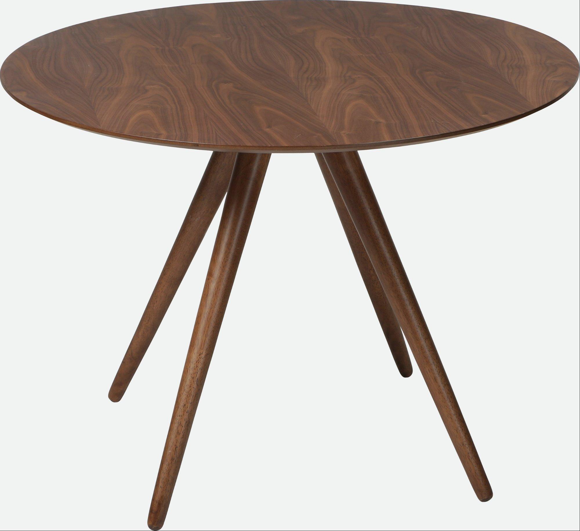 Pheno, cafébord by DAN-FORM Denmark (H: 75 cm. B: 106 cm. L: 106 cm., Valnød)