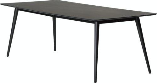 På billedet ser du variationen Pheno, Spisebord fra brandet DAN-FORM Denmark i en størrelse H: 75 cm. B: 100 cm. L: 220 cm. i farven Sort