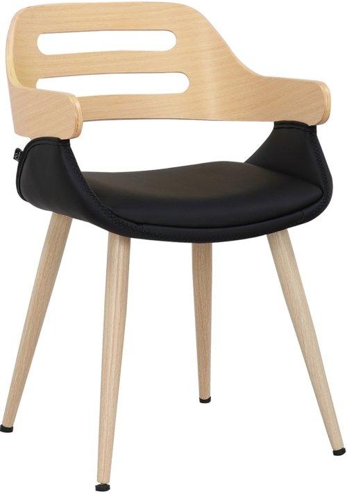 På billedet ser du variationen Trud, Spisebordsstol, Valnød fra brandet House of Sander i en størrelse H: 77 cm. B: 50 cm. L: 51 cm. i farven Lys natur