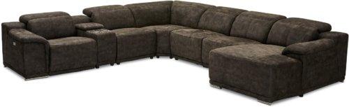 På billedet ser du variationen Glasgow, Sofa, Stof, Byg selv fra brandet Raymond & Hallmark i en størrelse Komplet sofa, højre i farven Grå