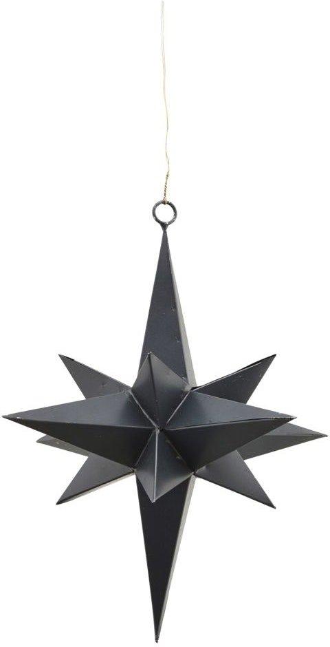 På billedet ser du variationen Stjerne, 3 Dimensional fra brandet House Doctor i en størrelse D: 19 cm. i farven Sort