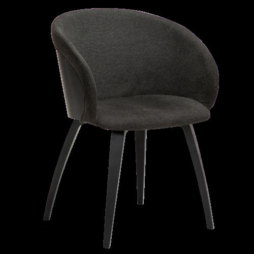 På billedet ser du variationen Imo, Lænestol, Stof fra brandet DAN-FORM Denmark i en størrelse H: 80 cm. B: 57 cm. L: 51 cm. i farven Sort