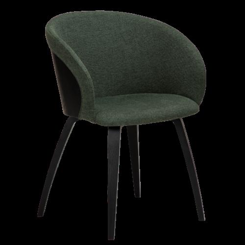 På billedet ser du variationen Imo, Lænestol, Stof fra brandet DAN-FORM Denmark i en størrelse H: 80 cm. B: 57 cm. L: 51 cm. i farven Grøn