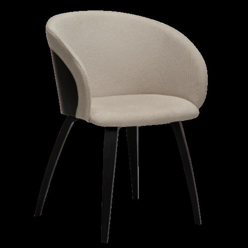 På billedet ser du variationen Imo, Lænestol, Stof fra brandet DAN-FORM Denmark i en størrelse H: 80 cm. B: 57 cm. L: 51 cm. i farven Hvid/beige