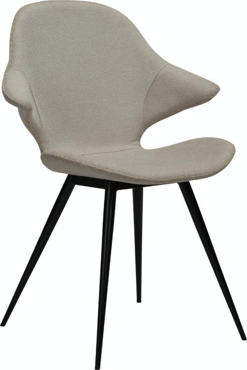 På billedet ser du variationen Karma, Spisebordsstol, Stof fra brandet DAN-FORM Denmark i en størrelse H: 86 cm. B: 62 cm. L: 60 cm. i farven Hvid/beige