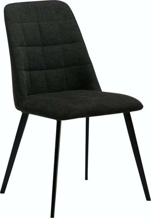På billedet ser du variationen Embrace, Spisebordsstol, Stof fra brandet DAN-FORM Denmark i en størrelse H: 84 cm. B: 48 cm. L: 55 cm. i farven Sort