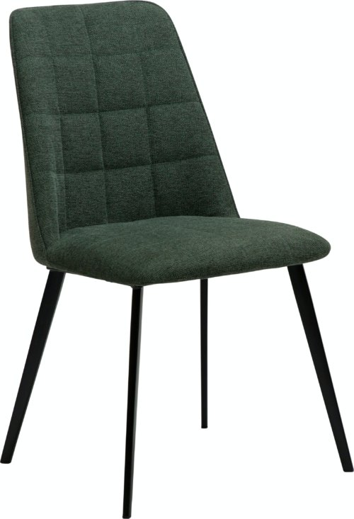 På billedet ser du variationen Embrace, Spisebordsstol, Stof fra brandet DAN-FORM Denmark i en størrelse H: 84 cm. B: 48 cm. L: 55 cm. i farven Grøn