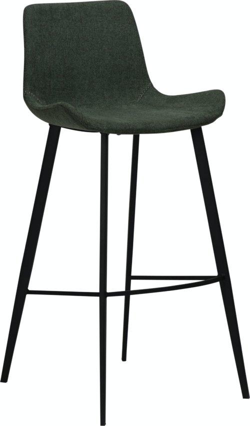 På billedet ser du variationen Hype, Barstol, Stof fra brandet DAN-FORM Denmark i en størrelse H: 101 cm. B: 49 cm. L: 53 cm. i farven Grøn
