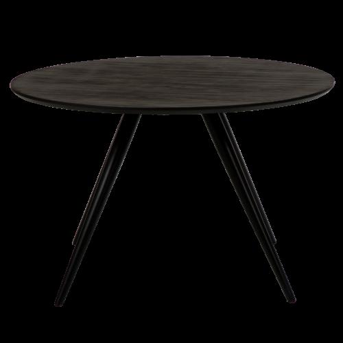 På billedet ser du variationen Eclipse, Rund bordplade fra brandet DAN-FORM Denmark i en størrelse H: 75 cm. B: 120 cm. L: 120 cm. i farven Grå
