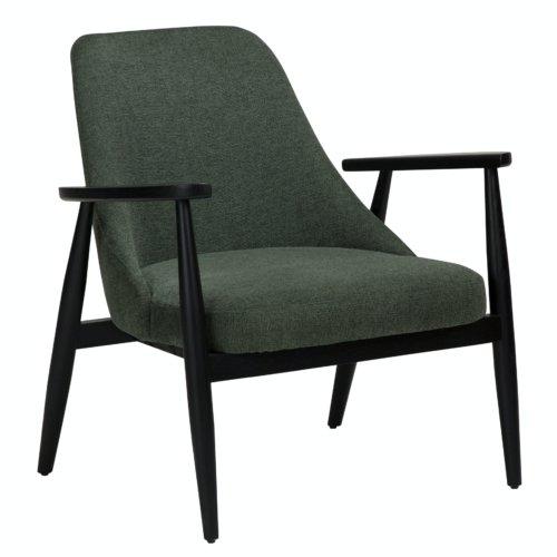 På billedet ser du variationen Saga, Loungestol, Stof fra brandet DAN-FORM Denmark i en størrelse H: 73 cm. B: 73 cm. L: 78 cm. i farven Grøn