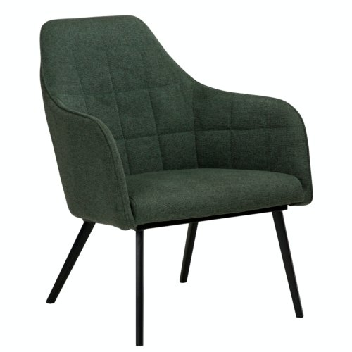 På billedet ser du variationen Embrace, Loungestol, Stof fra brandet DAN-FORM Denmark i en størrelse H: 83 cm. B: 68 cm. L: 77 cm. i farven Grøn