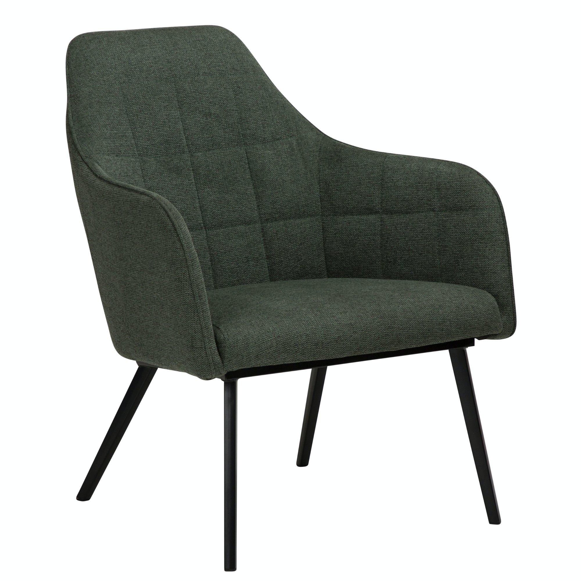 Køb Embrace, Loungestol, Stof by DAN-FORM Denmark (H: 83 cm. B: 68 cm. L: 77 cm., Grøn)