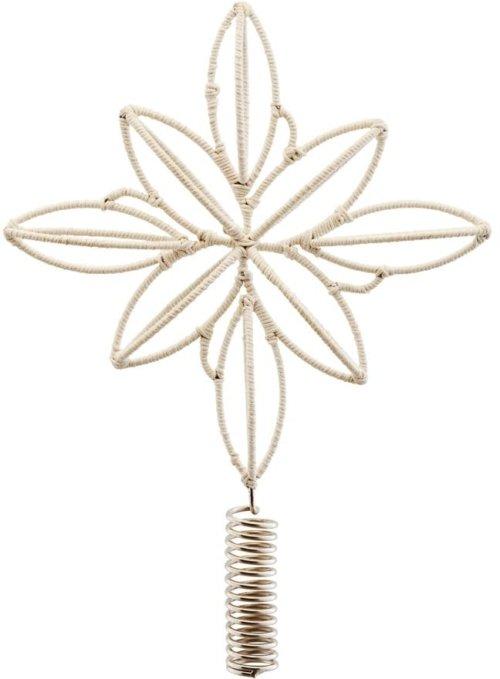 På billedet ser du variationen Juletræsstjerne, Soft fra brandet House Doctor i en størrelse H: 32 cm. i farven Beige