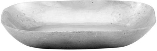 På billedet ser du variationen Bakke, Alu fra brandet Meraki i en størrelse H: 2 cm. B: 11,5 cm. L: 11,5 cm. i farven Sølv finish