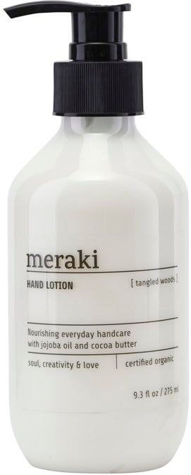 På billedet ser du variationen Hånd lotion, Tangled Woods fra brandet Meraki i en størrelse D: 6 cm. H: 16 cm. i farven Klar