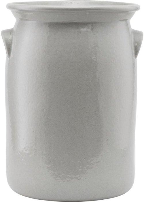På billedet ser du variationen Keramik krukke, Jami fra brandet Meraki i en størrelse H: 36 cm. i farven Skallegrå