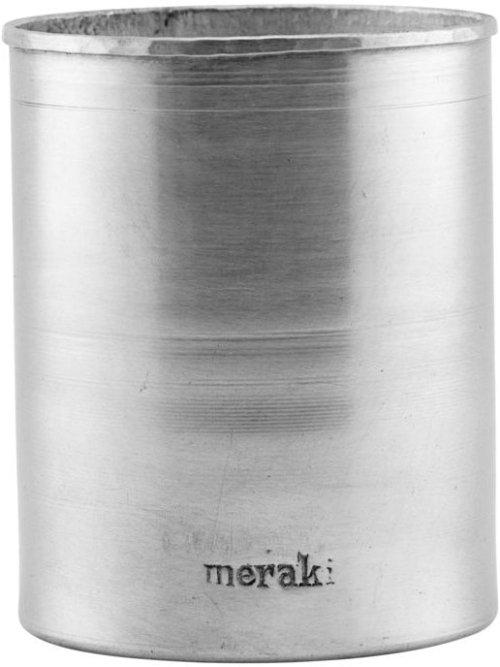 På billedet ser du variationen Krukke, Iron fra brandet Meraki i en størrelse H: 11 cm. i farven Sølv finish