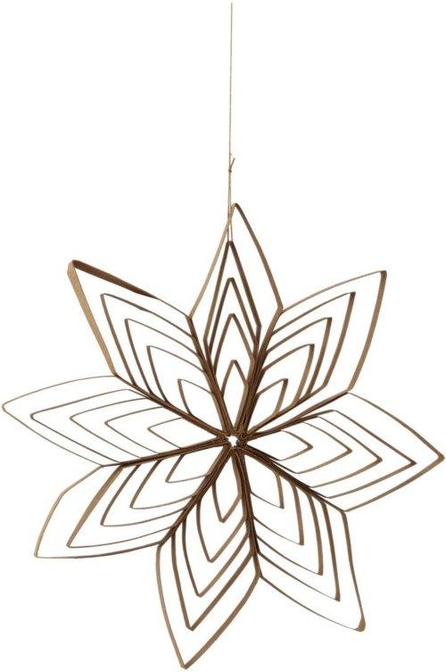 På billedet ser du variationen Julepynt, Ouilling fra brandet House Doctor i en størrelse D: 25 cm. i farven Natural