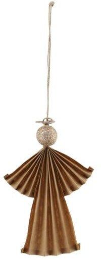På billedet ser du variationen Julepynt, Angel fra brandet House Doctor i en størrelse H: 12 cm. i farven Natural