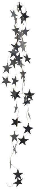 På billedet ser du variationen Guirlande, Star fra brandet House Doctor i en størrelse L: 250 cm. i farven Sort