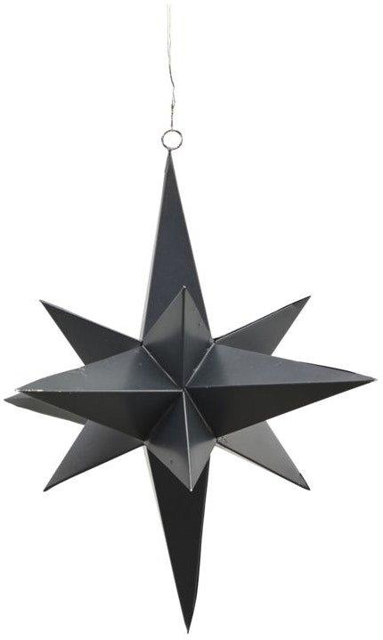 På billedet ser du variationen Stjerne, 3 Dimensional fra brandet House Doctor i en størrelse D: 25 cm. i farven Sort