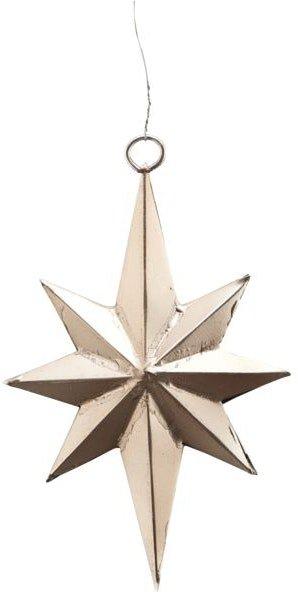 På billedet ser du variationen Stjerne, Bethlehem fra brandet House Doctor i en størrelse L: 11,5 cm. i farven Antik sølv