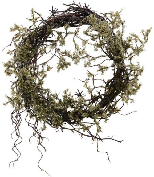 På billedet ser du variationen Krans, Wild moss fra brandet House Doctor i en størrelse D: 47 cm. i farven Natur