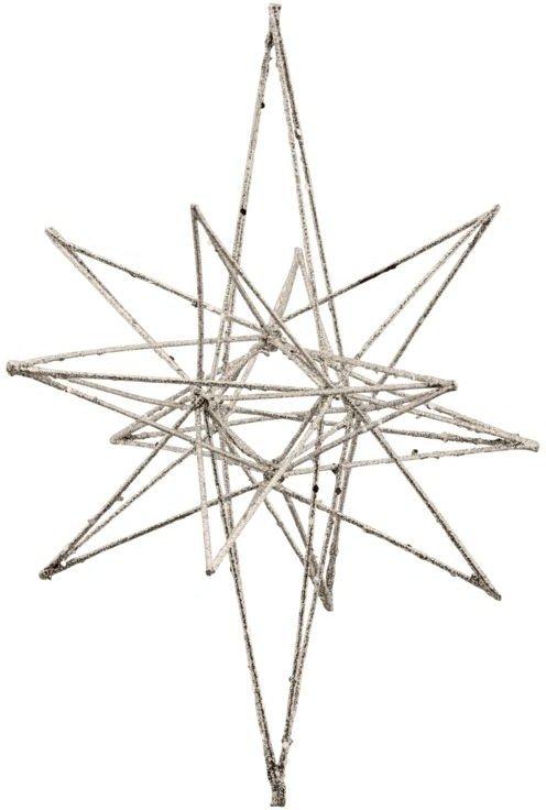 På billedet ser du variationen Julepynt, Star fra brandet House Doctor i en størrelse H: 25 cm. L: 14 cm. i farven Champagne