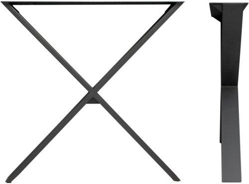 På billedet ser du variationen Slim X Base fra brandet House of Sander i en størrelse 30 x 35 x 15 cm. i farven Sort