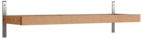 På billedet ser du variationen Nadja, Knagerække, Træ fra brandet Oscarssons Möbel i en størrelse L: 80 cm. i farven Olieret egetræ