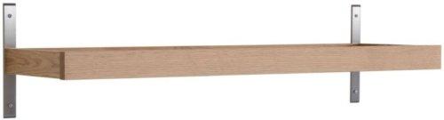 På billedet ser du variationen Nadja, Knagerække, Træ fra brandet Oscarssons Möbel i en størrelse L: 100 cm. i farven Lakeret egetræ
