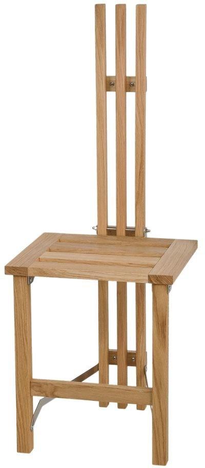 På billedet ser du variationen Nadja, Vægstol, Træ fra brandet Oscarssons Möbel i en størrelse B: 37 cm. L: 39 cm. i farven Lakeret egetræ
