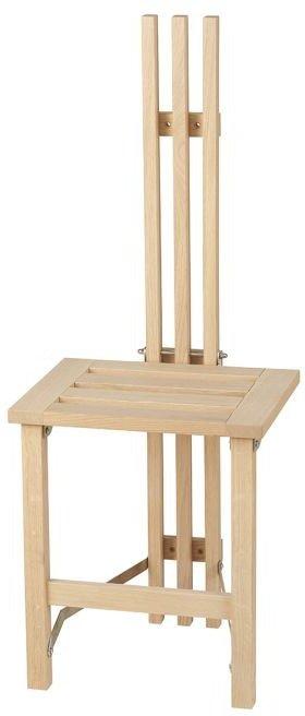 På billedet ser du variationen Nadja, Vægstol, Træ fra brandet Oscarssons Möbel i en størrelse B: 37 cm. L: 39 cm. i farven Hvidolieret egetræ
