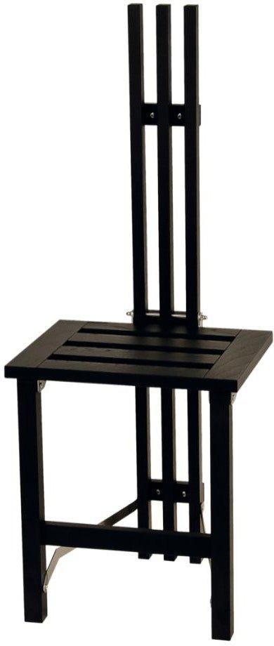 På billedet ser du variationen Nadja, Vægstol, Træ fra brandet Oscarssons Möbel i en størrelse B: 37 cm. L: 39 cm. i farven Sortbejdset egetræ