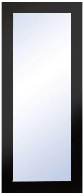 På billedet ser du variationen Nova, Vægspejl, Træramme fra brandet Oscarssons Möbel i en størrelse H: 90 cm. B: 38 cm. i farven Hvidlakeret MDF