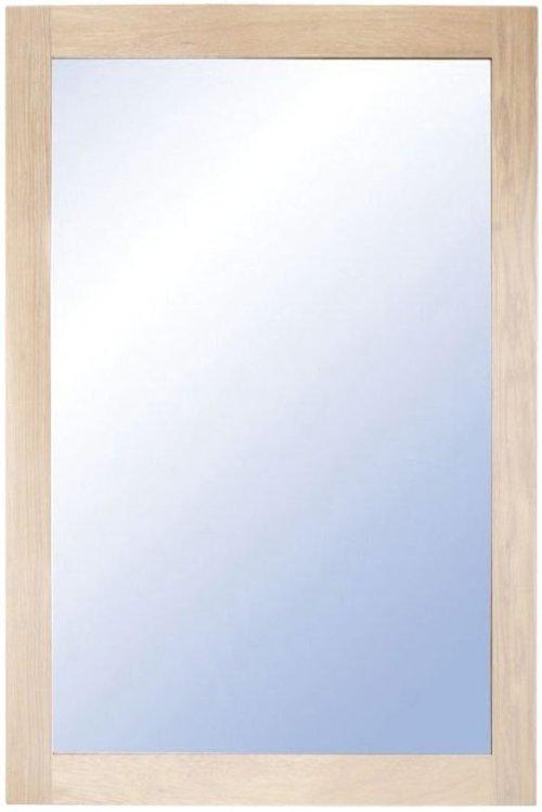 På billedet ser du variationen Nova, Vægspejl, Træramme fra brandet Oscarssons Möbel i en størrelse H: 90 cm. B: 60 cm. i farven Hvidolieret egetræ
