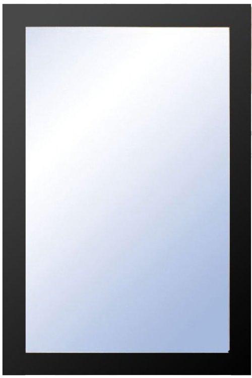På billedet ser du variationen Nova, Vægspejl, Træramme fra brandet Oscarssons Möbel i en størrelse H: 90 cm. B: 60 cm. i farven Hvidlakeret MDF