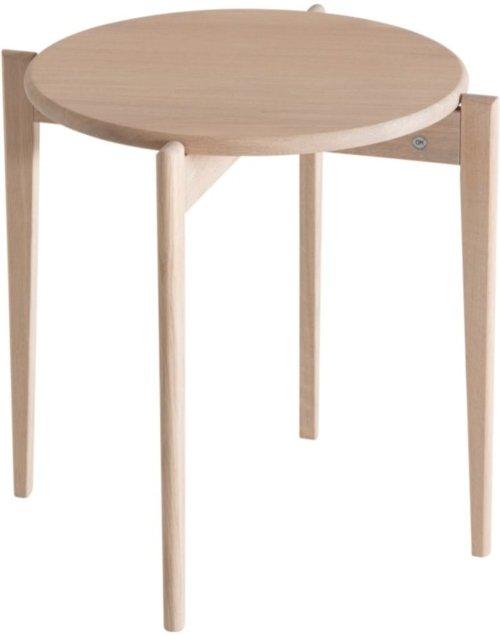 På billedet ser du variationen Tilia, Sofabord, Egetræ fra brandet Oscarssons Möbel i en størrelse H: 48 cm. B: 51 cm. L: 51 cm. i farven Hvidolieret egetræ