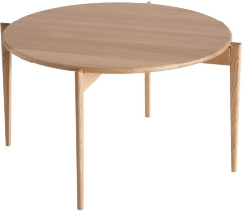 På billedet ser du variationen Tilia, Sofabord, Egetræ fra brandet Oscarssons Möbel i en størrelse H: 48 cm. B: 88 cm. L: 88 cm. i farven Lakeret egetræ