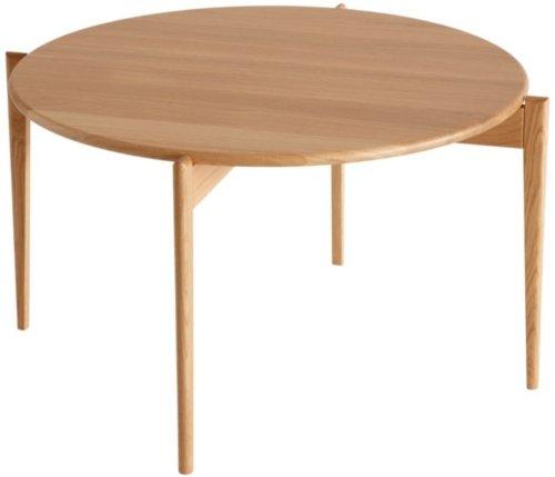 På billedet ser du variationen Tilia, Sofabord, Egetræ fra brandet Oscarssons Möbel i en størrelse H: 48 cm. B: 88 cm. L: 88 cm. i farven Olieret egetræ
