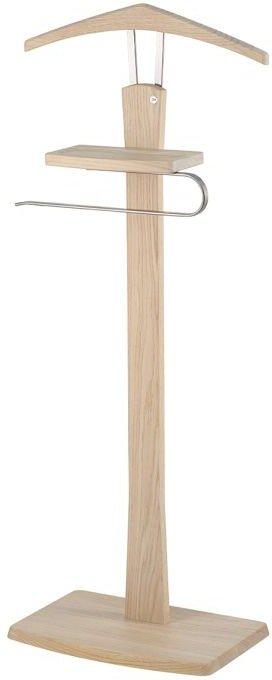 På billedet ser du variationen Zeve, Kammertjener, Træ fra brandet Oscarssons Möbel i en størrelse H: 108 cm. B: 27 cm. L: 40 cm. i farven Hvidolieret egetræ