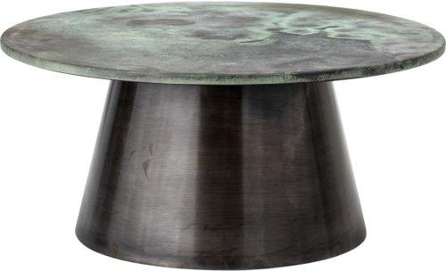 På billedet ser du variationen Harmony, Sofabord, Aluminium, Jern fra brandet Bloomingville i en størrelse D: 76 cm. H: 35 cm. i farven Grøn