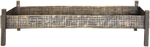 På billedet ser du variationen Ivory, Bakke, Aluminium fra brandet Bloomingville i en størrelse H: 13,5 cm. B: 25 cm. L: 50 cm. i farven Messing