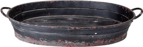 På billedet ser du variationen Ivory, Bakke, Jern fra brandet Creative Collection i en størrelse H: 16 cm. B: 32 cm. L: 85 cm. i farven Sort