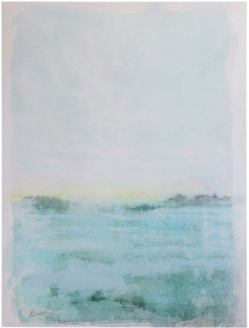 På billedet ser du variationen Boho Livin, Illustration, Tekstil fra brandet Creative Collection i en størrelse H: 106 cm. L: 80 cm. i farven Blå